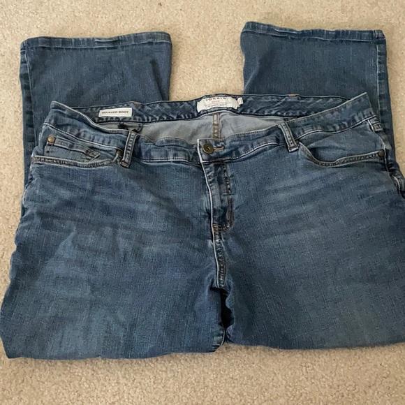 Torrid Relaxed Boot Denim Jeans Size 24R